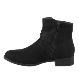 Kayla Shoes Czarne botki JKD-52 3
