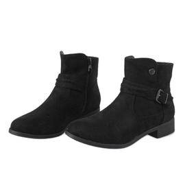 Kayla Shoes Czarne botki JKD-52 5