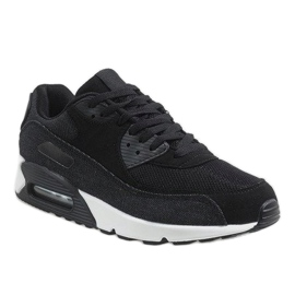 Czarne męskie obuwie sportowe 8104 1