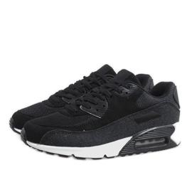 Czarne męskie obuwie sportowe 8104 3