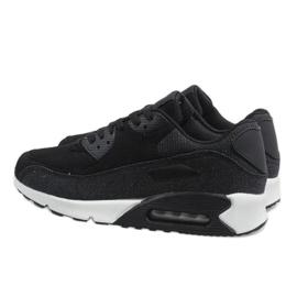 Czarne męskie obuwie sportowe 8104 4
