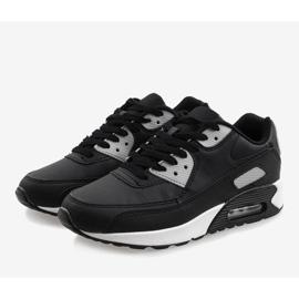Czarne obuwie sportowe Z2140-2 4