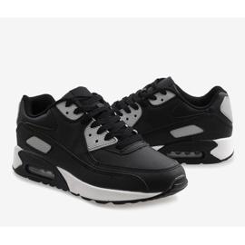 Czarne obuwie sportowe Z2140-2 5