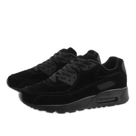 Czarne obuwie sportowe Z2014-6 4