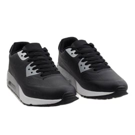 Czarne obuwie sportowe Z2014-4 5