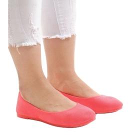 Różowe balerinki JX1018-6 1