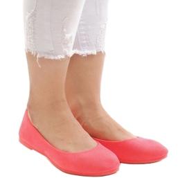 Różowe balerinki JX1018-6 2