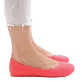 Różowe balerinki JX1018-6 3