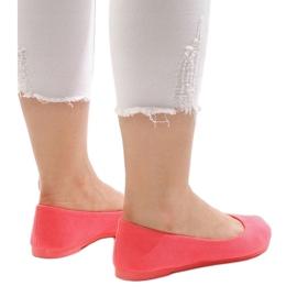 Różowe balerinki JX1018-6 4