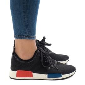 Czarne obuwie sportowe MD01B-5 2