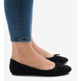 Czarne balerinki 006-1 4