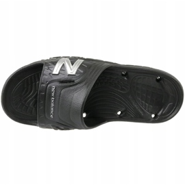 Klapki New Balance M SD104BS czarne 2