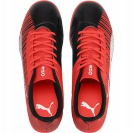 Buty piłkarskie Puma One 5.4 It Jr 105654 01 czerwone czerwony 1