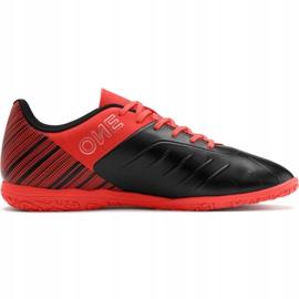 Buty piłkarskie Puma One 5.4 It Jr 105654 01 czerwone czerwony 2