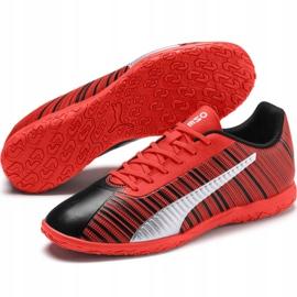 Buty piłkarskie Puma One 5.4 It Jr 105654 01 czerwone czerwony 3