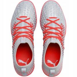 Buty piłkarskie Puma Future 4.3 Netfit Tt M 105685 01 szare wielokolorowe 1