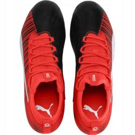 Buty piłkarskie Puma One 5.3 Fg Ag M 105604 01 czerwone wielokolorowe 1