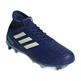 Buty piłkarskie adidas Predator 18.3 Fg M CP9304 niebieskie niebieskie 1