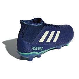 Buty piłkarskie adidas Predator 18.3 Fg M CP9304 niebieskie niebieskie 3
