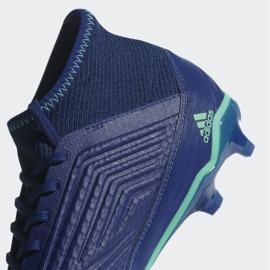 Buty piłkarskie adidas Predator 18.3 Fg M CP9304 niebieskie niebieskie 4
