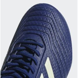 Buty piłkarskie adidas Predator 18.3 Fg M CP9304 niebieskie niebieskie 5