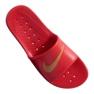 Czerwone Klapki Nike Kawa Shower M 832528-602 zdjęcie 1