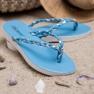 Seastar Niebieskie Plecione Japonki 1