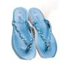 Seastar Niebieskie Plecione Japonki zdjęcie 2