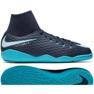Buty halowe Nike HypervenomX Phelon Iii Df Ic Jr 917774-414 granatowy, niebieski niebieskie 2