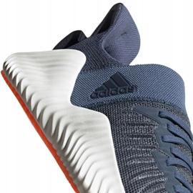 Buty biegowe adidas Alphabounce Trainer M CG6237 niebieskie 2