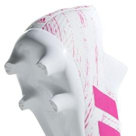 Buty piłkarskie adidas Nemeziz 18.3 Fg M BB9436 białe białe 5
