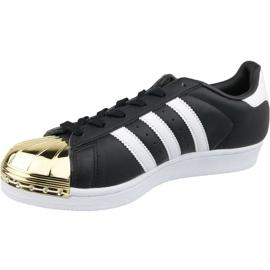Buty adidas Superstar W Metal Toe W BB5115 czarne 1