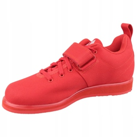 Buty adidas Powerlift 4 W BC0346 czerwone 1