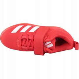 Buty adidas Powerlift 4 W BC0346 czerwone 2