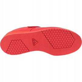 Buty adidas Powerlift 4 W BC0346 czerwone 3
