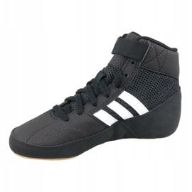 Buty adidas Havoc K Jr AQ3327 czarne 1