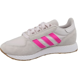 Buty adidas Forest Grove W EE5847 białe 1