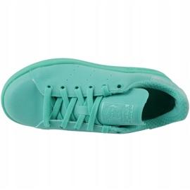 Buty adidas Stan Smith Adicolor W S80250 niebieskie 2