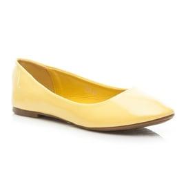 Seastar Lakierowane Baleriny żółte 1