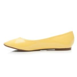 Seastar Lakierowane Baleriny żółte 2