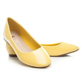 Seastar Lakierowane Baleriny żółte 3