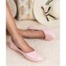 Lakierowane Baleriny VICES różowe 2