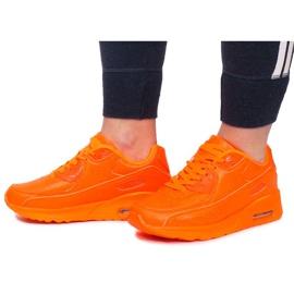 Sneakersy B503-3 Pomarańczowy pomarańczowe 1