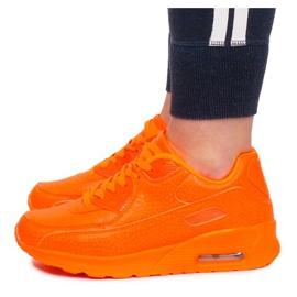 Sneakersy B503-3 Pomarańczowy pomarańczowe 2