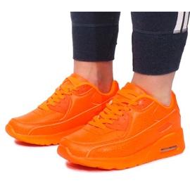 Sneakersy B503-3 Pomarańczowy pomarańczowe 3