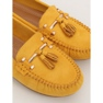 Mokasyny damskie żółte L7183 Yellow zdjęcie 4