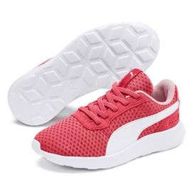 Buty Puma St Activate Ac Ps Jr 369070 09 koralowe czerwone 2