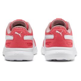 Buty Puma St Activate Ac Ps Jr 369070 09 koralowe czerwone 3