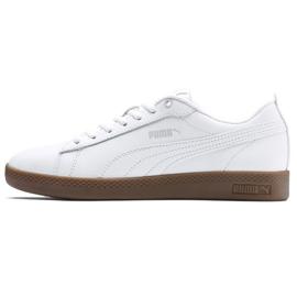 Buty Puma Smash v2 L W 365208 12 białe 1