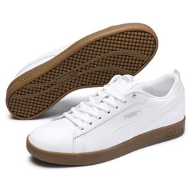 Buty Puma Smash v2 L W 365208 12 białe 2